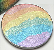 1Pcs Rainbow Highlighter Eyeshadow Mineral Sleek Powder 3D Face Makeup Naked Smoky Eye Shadow Bronzer Blush Contour Palette