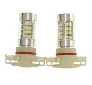 Недорогие -SENCART 2pcs H16 Автомобиль Лампы 36W SMD 3030 1500-1800lm Светодиодные лампы Противотуманные фары