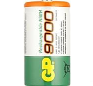 Недорогие -Gp перезаряжаемая батарея nimh 9000mah 1.2v