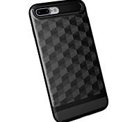 Caso per Apple iphone 7 più 7 custodia protettiva shock copertura posteriore caso pc geometrico modello hard 6s più 6 più 6s 6 5s 5