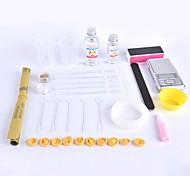 Краб kingdom® diy ручной работы хром эпоксидный набор инструментов самосборка простой тип