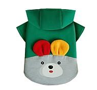 Недорогие -Собака Толстовка Одежда для собак На каждый день Кролик Желтый Красный Зеленый Костюм Для домашних животных