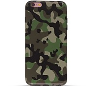 Case For IPhone 7 6 Camouflage Color TPU Soft Ultra-thin Back Cover Case Cover iPhone 7 PLUS 6 6s Plus SE 5s 5 5C 4S 4