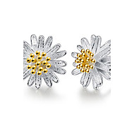cheap -Women's Drop Earrings Jewelry Vintage Fashion Alloy Daisy Flower Jewelry White Birthday Gift Daily Evening Party Valentine Costume Jewelry