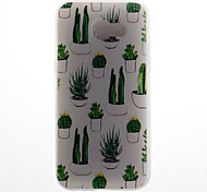 Case For Samsung Galaxy A5 (2017) A5 (2016) Case Cover Cactus Pattern 3D Relief Milk TPU Material Phone Case For Galaxy A3 (2016)