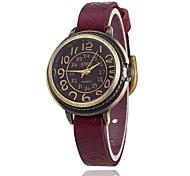 XU Women's Vintage Wrist Watch Leather Belt Casual Bracelet Watch Wrist Watch