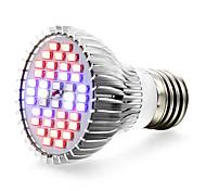 Недорогие -1шт 650 lm E27 LED лампа для теплиц 40 светодиоды SMD 5730 Красный Синий UV (лампа черного света) AC 85-265V