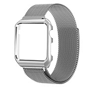 Milanese Band For Apple Watch 3 Series 1 2 Stainless Steel Replacement Bracelet with Metal Frame