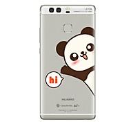 Недорогие -Чехол для huawei p8 lite2017 p10 крышка прозрачный чехол panda soft tpu для p10 lite p10 plus p9 plus p9 lite p9 p8 lite p8 mate9 pro