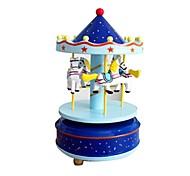 музыкальная шкатулка Игрушки Лошадь Карусель Пластик Куски Для детей Универсальные День Святого Валентина Подарок