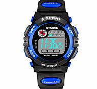 Смарт-часы Защита от влаги Длительное время ожидания Спорт Многофункциональный Таймер будильник Секундомер Календарь Нет Слот для