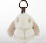 Bag / Phone / Keychain Charm Cartoon Toy Mink Fur
