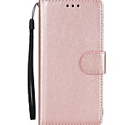 For Samsung Galaxy S8 Plus S8 Phone Case PU Leather Material Solid Color Phone Case S7 Edge S7 S6 Edge S6 S5