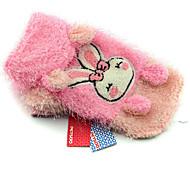 Dog Coat Dog Clothes Casual/Daily Rabbit/Bunny Yellow Blushing Pink