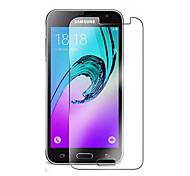 Vidrio Templado Protector de pantalla para Samsung Galaxy J3 (2016) Protector de Pantalla Frontal Alta definición (HD) Dureza 9H Borde