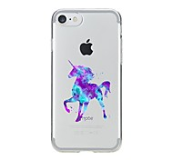 Case For Iphone 7 6 Unicorn TPU Soft Ultra-thin Back Cover Case Cover iPhone 7 PLUS 6 6s Plus SE 5s 5 5C 4S 4