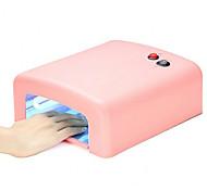 36 Вт Сушки для ногтей УФ-лампа Светодиодная лампа Кусачки для ногтей УФ-гель польский