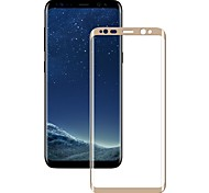 XIMALONG Screem Protector For Galaxy S8 Plus  Tempered Glass High Definition 2.5D Curved edge Explosion Proof Anti-scratch Front Screen Protector