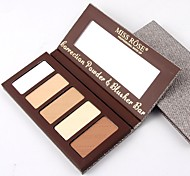 cheap -1 Concealer/Contour Highlighters/Bronzers Dry Matte Pressed powder Brightening Face