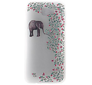 Case For Samsung Galaxy J7 (2017) J5 (2017) Case Cover Elephant Pattern 3D Relief Milk TPU Material Phone Case For Galaxy J3 (2017) J7 Prime J5 Prime