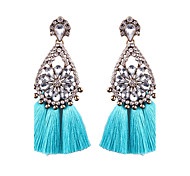 cheap -Women's Drop Earrings Jewelry Floral Cotton Alloy Geometric Jewelry Wedding Party Graduation Other Gift Daily Casual Evening Party Stage