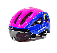 Недорогие -Шлем Мотоциклетный шлем CE Велоспорт 10 Вентиляционные клапаны Горные Ультралегкий (UL) Спорт Горные велосипеды Шоссейные велосипеды