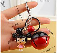 Недорогие -Подвеска на сумку / телефон / брелокй колокольчик Мультфильм игрушки ПВХ металл