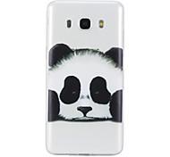 Funda Para Samsung Galaxy J5 (2016) J3 (2016) Transparente Diseños Cubierta Trasera Oso Panda Suave TPU para J5 (2016) J5 J3 (2016)