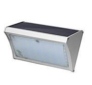 56 Led Solar Induction Aluminum Alloy Wall Lamp 8W with Remote Control Courtyard Balcony Lights