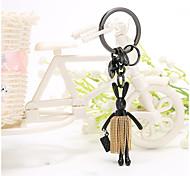 Bag / Phone / Keychain Charm Rabbit Tassel Cartoon Toy Zinc Alloy Korea Style