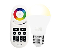 cheap -6W E27 LED Smart Bulbs A60(A19) 14 leds SMD 5050 Infrared Sensor Dimmable Remote-Controlled WIFI APP Control Light Control RGB RGB+Warm
