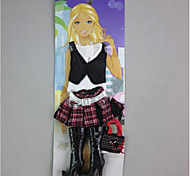 For Barbie Doll Skirts Tops Boots For Girl's Doll Toy
