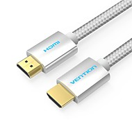 VENTION HDMI 2.0 Cable, HDMI 2.0 to HDMI 2.0 Cable Macho - Macho 4K*2K 15.0m (50 pies)