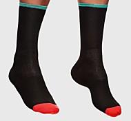 Sportsocken Fahhrad/Radsport Socken Unisex Rennen Radsport Anatomisches Design Atmungsaktivität Leicht 1 Paar Frühling Sommer Nylon