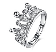 cheap -Women's Cuff Ring - Gold Plated Crown Fashion Adjustable Silver For Wedding / Daily / Casual