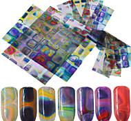 abordables -16 Accessoires Autocollants 3D pour ongles Autocollant Produits DIY 3D Mode Quotidien Haute qualité