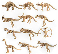 Недорогие -Экшен-фигурки Игрушки Животный принт Пластик Детские 12 Куски