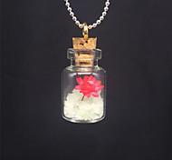 Недорогие -Жен. Светящийся камень Ожерелья с подвесками  -  На заказ, Светящийся Белый Ожерелье Назначение Halloween, Для клуба