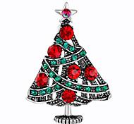 Недорогие -Жен. Прочее Стразы Броши - Мода / Рождество Разные цвета Брошь Назначение Рождество / Подарок