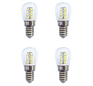 cheap -4 Pieces 2W 160 lm E14 LED Globe Bulbs 26 leds SMD 2835 Warm White White AC 220-240V