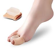 Недорогие -Ступни массажер Toe Сепараторы и мозолей Pad Коррекция осанки Защитный ортопедических Удобный