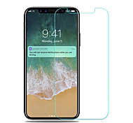 cheap -Screen Protector Apple for iPhone X Tempered Glass 1 pc Front Screen Protector 3D Curved edge Anti-Fingerprint 9H Hardness High
