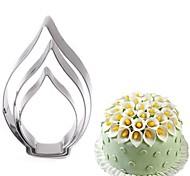 Недорогие -3шт калла лилия цветок плесень торт декоративный инструмент из нержавеющей стали печенье резаки