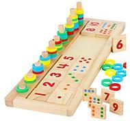 Недорогие -Конструкторы Учебный инструмент Монтессори Математические игрушки Обучающая игрушка Игрушки Прямоугольный Своими руками Дети Мальчики