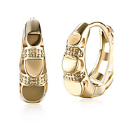 Women's Drop Earrings Hoop Earrings Cubic Zirconia AAA Cubic Zirconia Fashion Personalized Zircon Cubic Zirconia Circle Geometric Jewelry