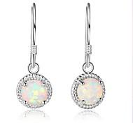 Women's Hoop Earrings Luxury Sterling Silver Geometric Jewelry For Wedding