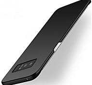 abordables -Funda Para Samsung Galaxy Nota 8 Note 5 Congelada Funda Trasera Color sólido Dura ordenador personal para Note 8 Note 5 Note 4 Note 3