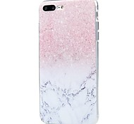 For iPhone X iPhone 8 Case Cover Ultra-thin Pattern Back Cover Case Glitter Shine Marble Soft TPU for Apple iPhone X iPhone 8 Plus iPhone