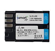 Ismartdigi DLi90 7.2V 1860mAh Camera Battery for Pentax D-Li90 K7 K7D K3 K5 K52S IIS 645D K01