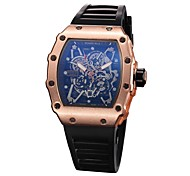 Men's Kid's Fashion Watch Wrist watch Unique Creative Watch Chinese Quartz Chronograph Water Resistant / Water Proof Hollow Engraving